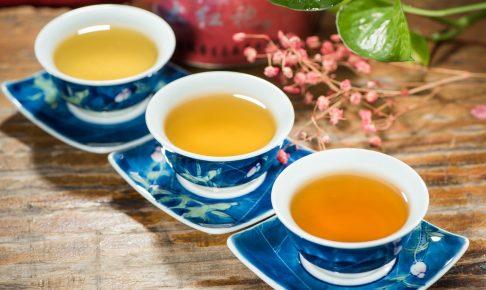 お茶を飲むタイミング